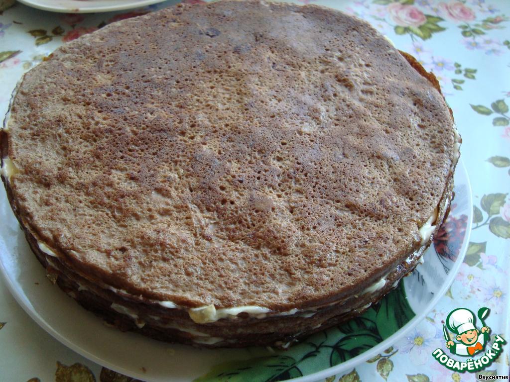 Торт из печени в духовке рецепт с фото пошагово