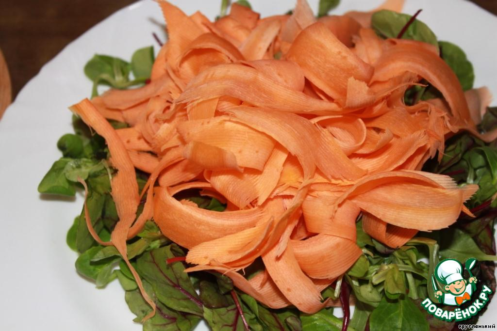 рецепт салата сырный с морковью рецепт