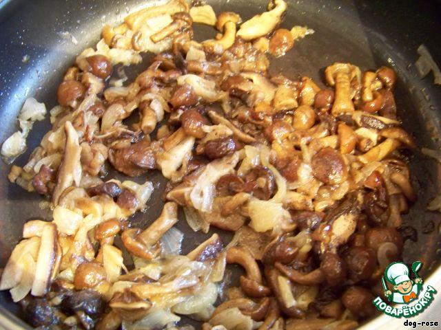 Салат из замороженных грибов рецепты с фото