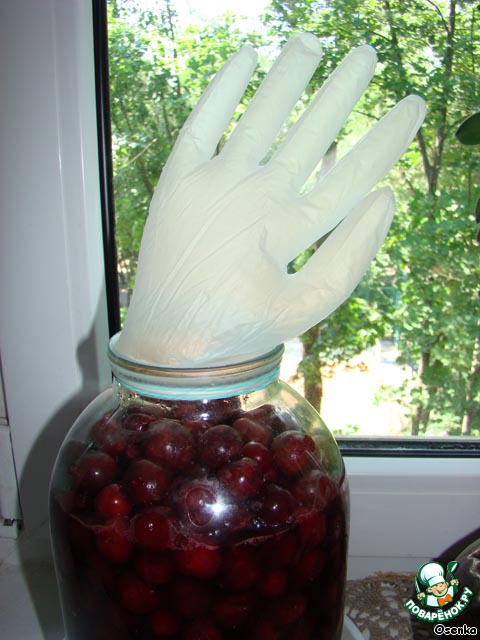 Настойка из вишни без косточки без водки в домашних условиях простой