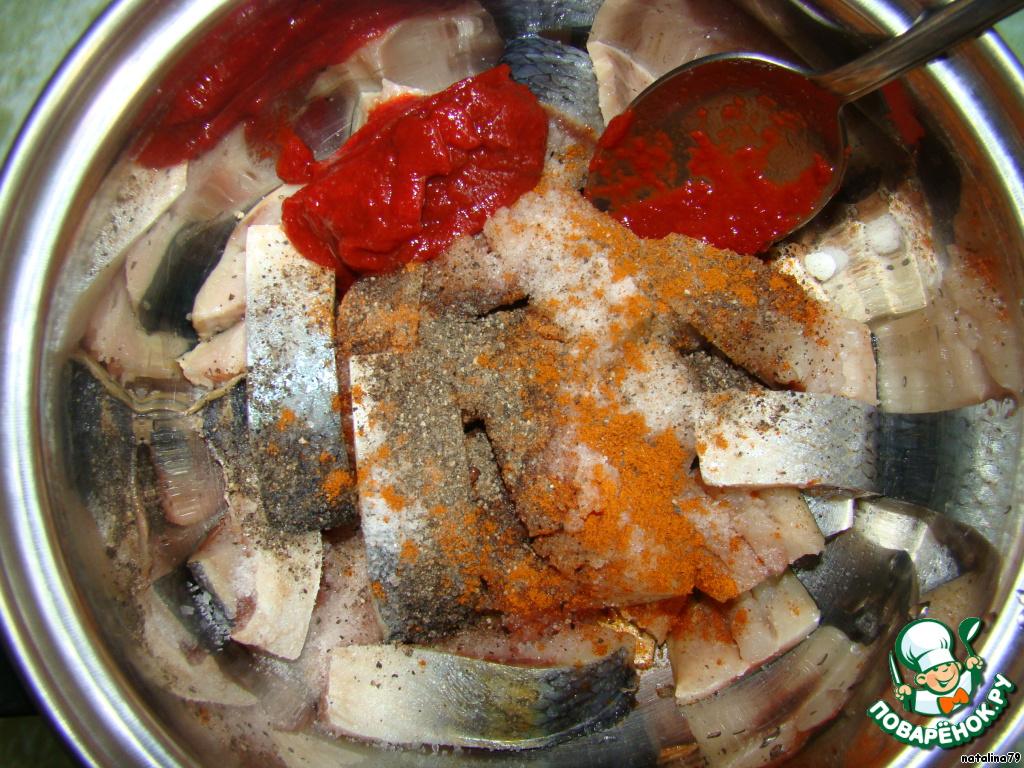 сельда маринованая аджика соль перец рецепт