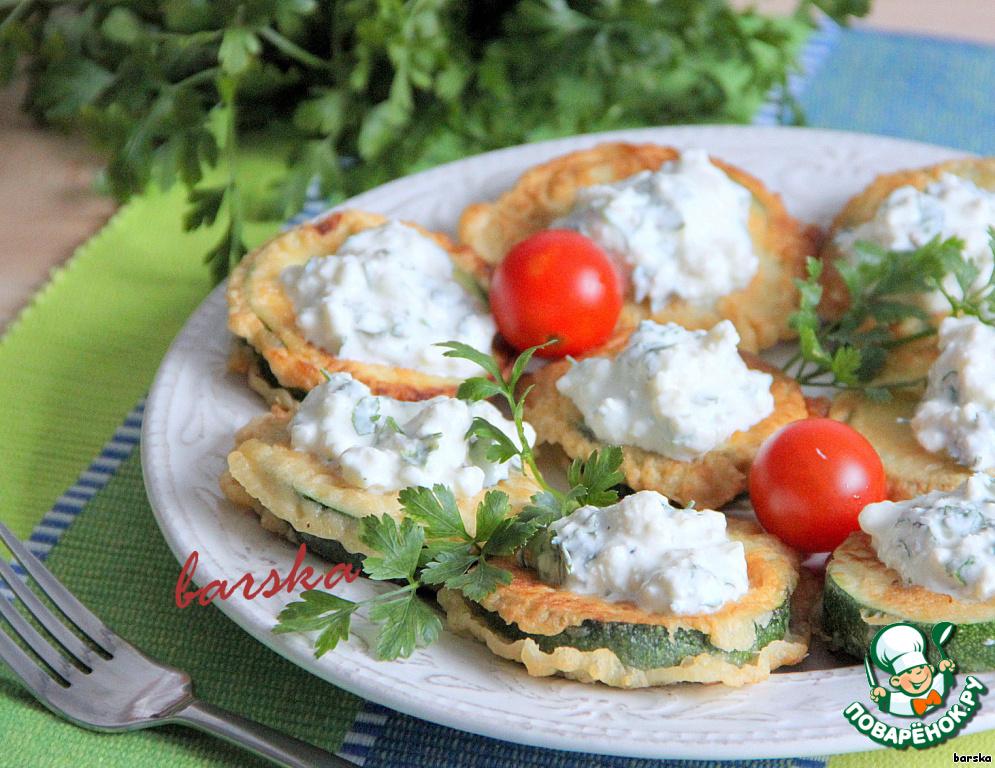 Цукини в кляре рецепт с фото
