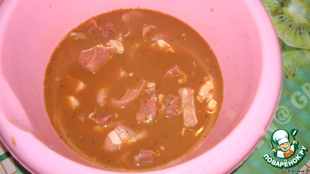 Свинина в маринаде рецепт пошаговый