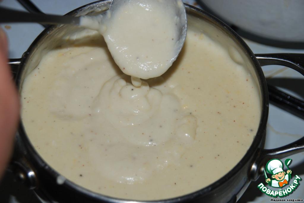Как сделать молочный соус для запеканки