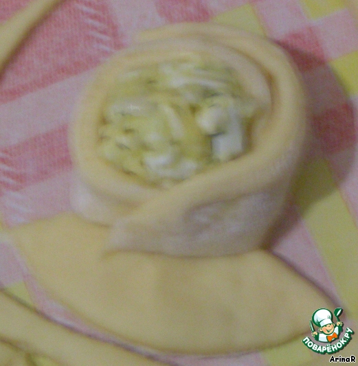 Пирожки-цветочки ингредиенты
