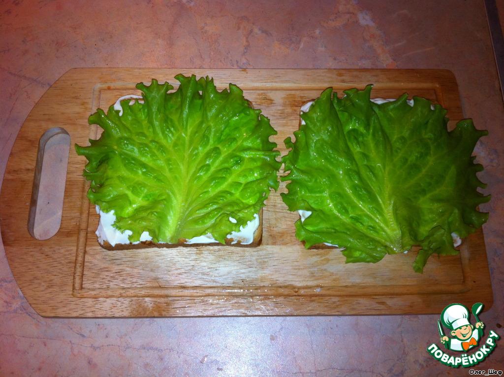 листья салата рецепт с фото пошагово