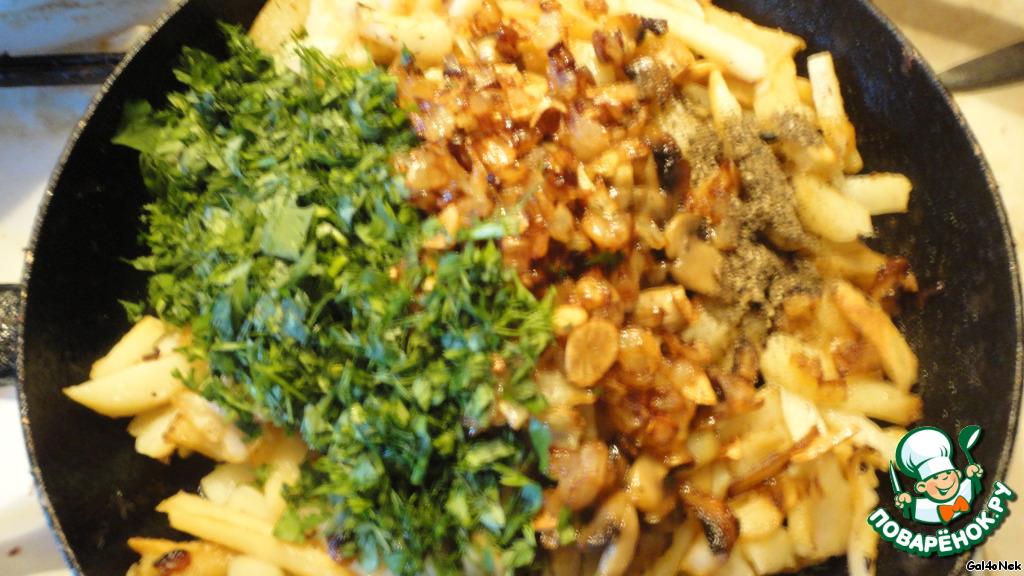 лисички с картошкой жареные рецепт с фото пошагово