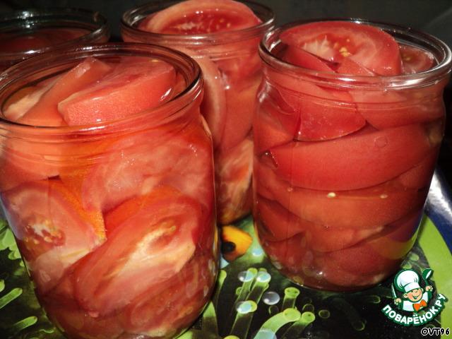 Салаты из помидор на зиму рецепты с простые и вкусные