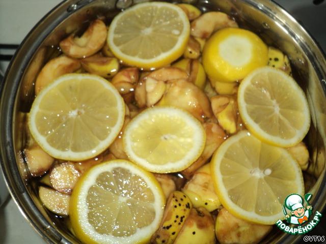 рецепт яблочного желе с бананом