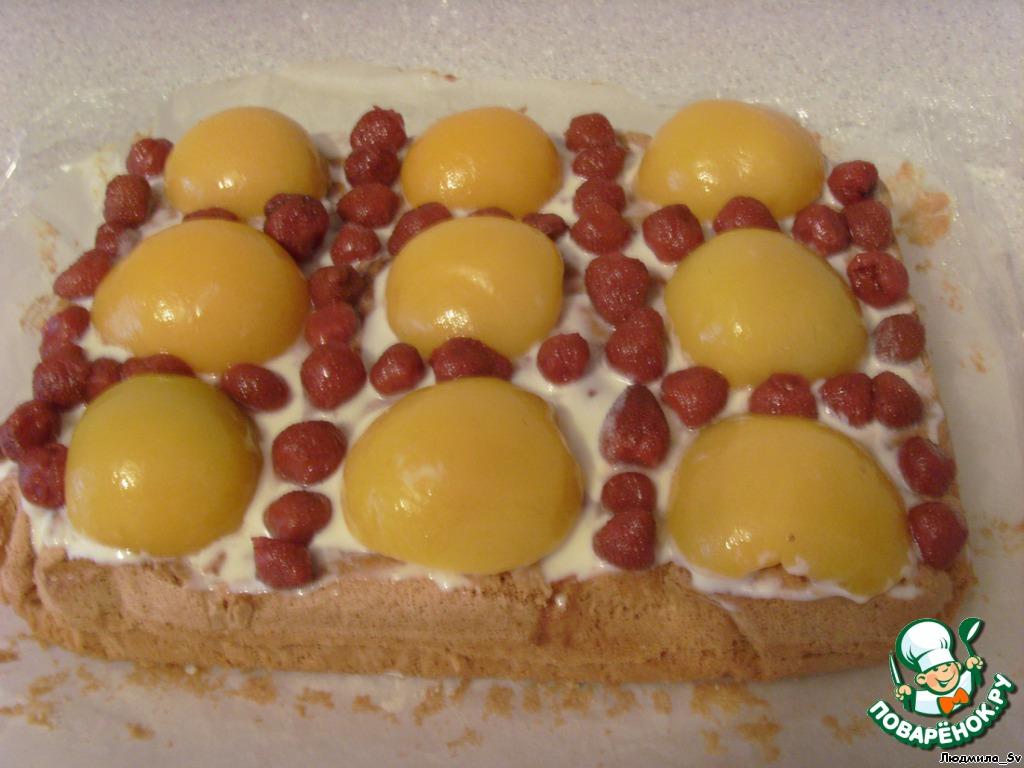 Нежный пирог с клубникой 2