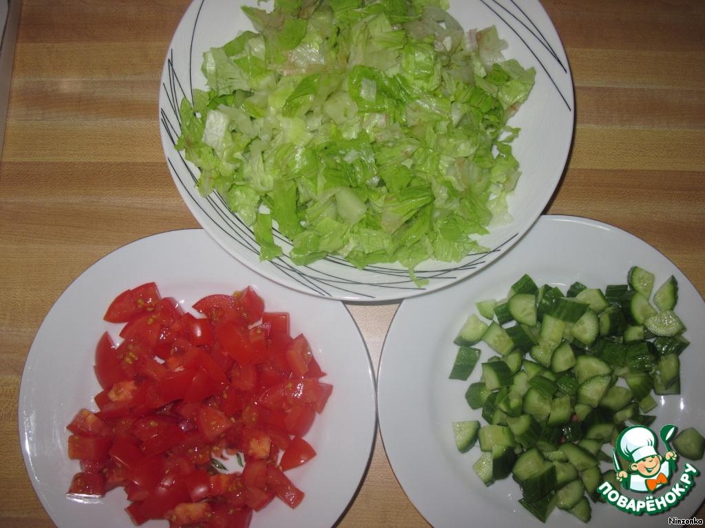 Салат на зиму из салата листьев рецепт с