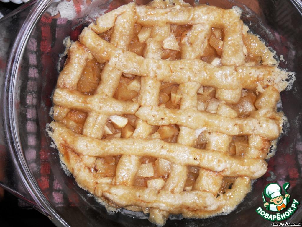 Пирог без яиц с яблоками рецепт пошагово в духовке 73