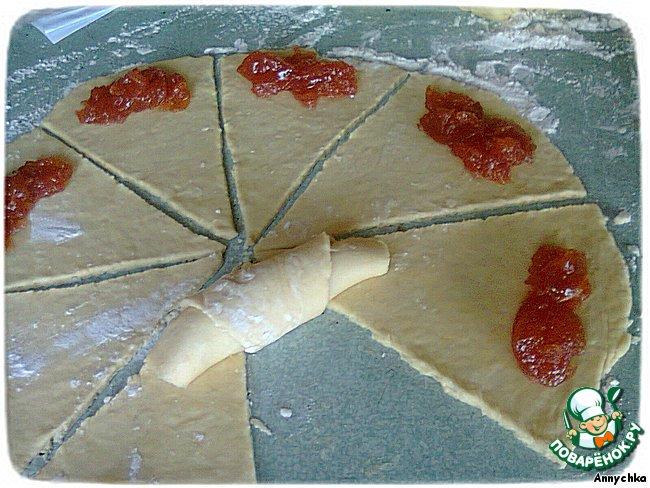 Рецепт круассанов в домашних условиях с начинкой