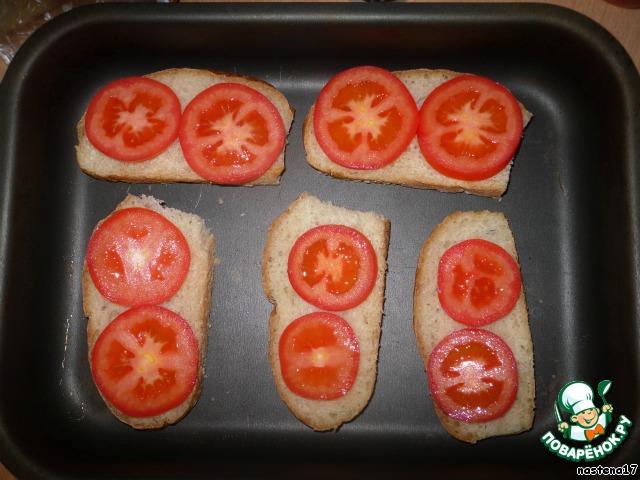 Горячие бутерброды с картошкой на сковородеы с фото