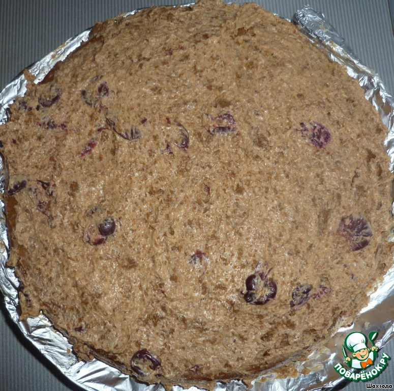 Торт с вишней в мультиварке рецепт пошагово