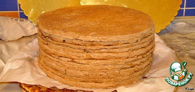 Как сделать коржи для торта
