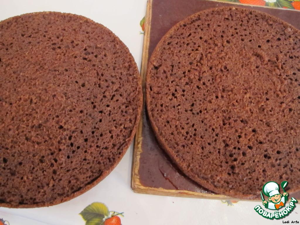 печеночный торт на кефире рецепт