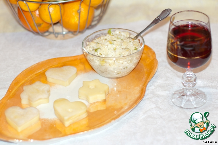 Закуски для вина рецепты