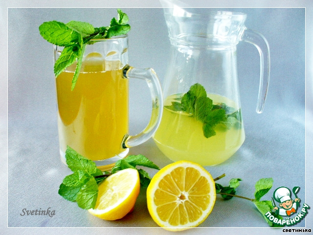 Лимонад в домашних условиях рецепты