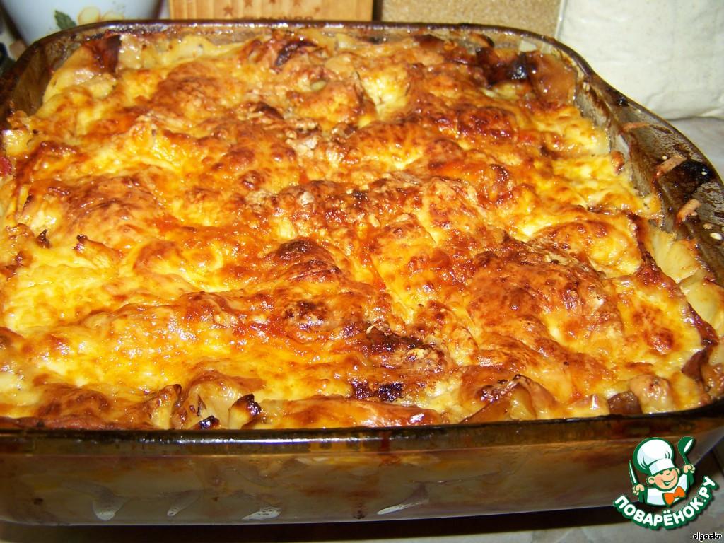 лазанья рецепт мясная с соусом бешамель рецепт