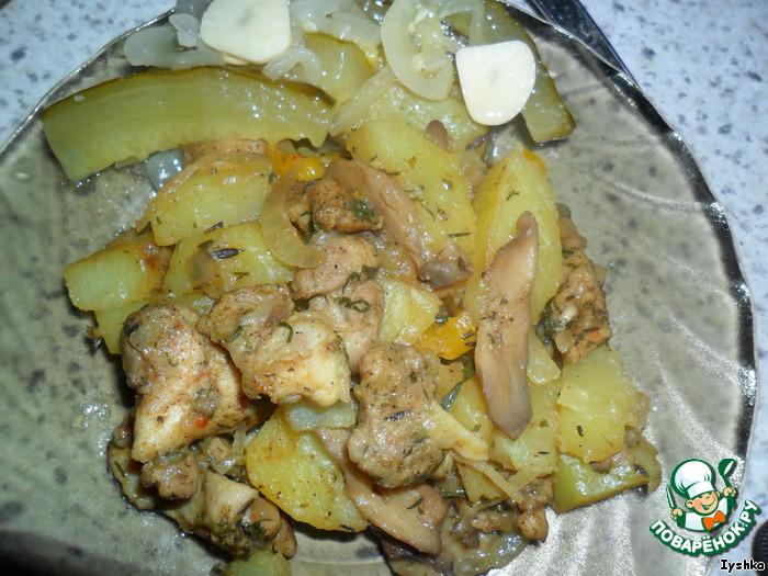 Как приготовить курицу с картошкой в пароварке