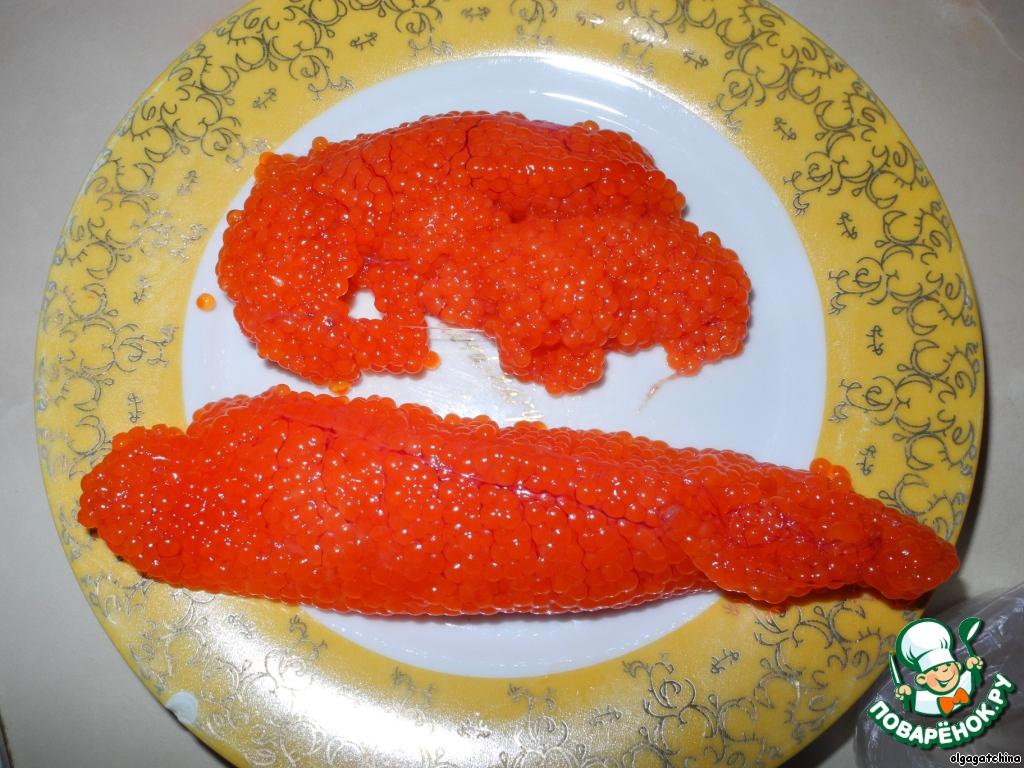 рецепт икра лососевая