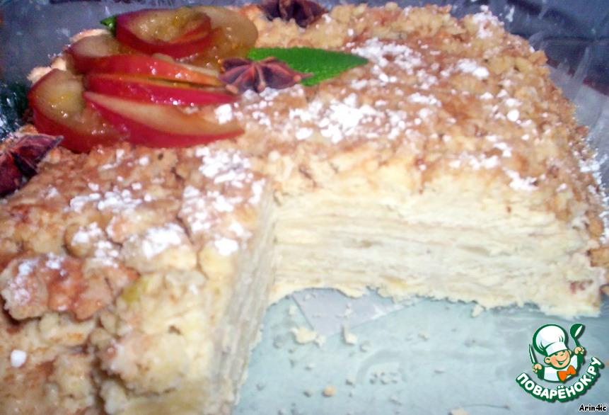 Сухой торт в домашних условиях 353