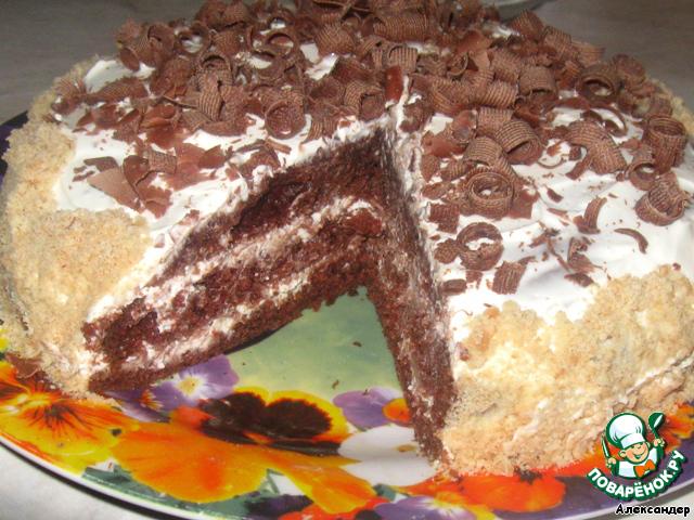 Вкусные торты своими руками