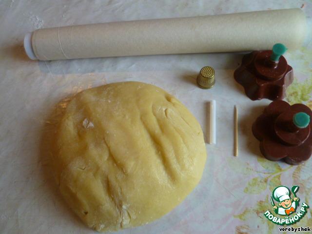 Тесто для печенья в формочках в духовке рецепт с пошагово в