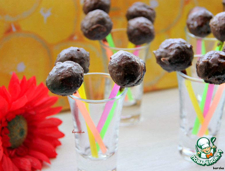 кейк попсы рецепт с фото без шоколада