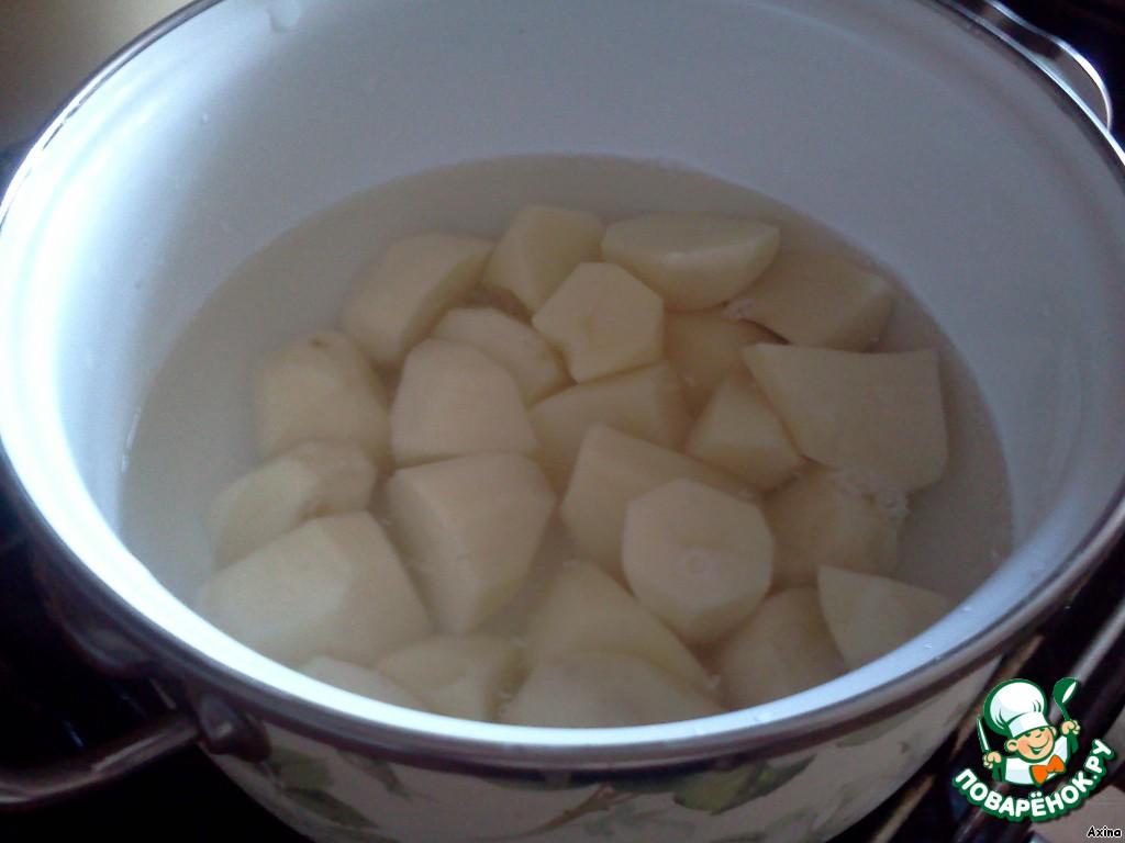 Как сделать пюре из картошки с блендером