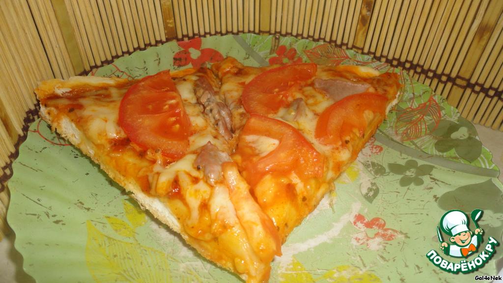 Простая пицца пошаговый рецепт с