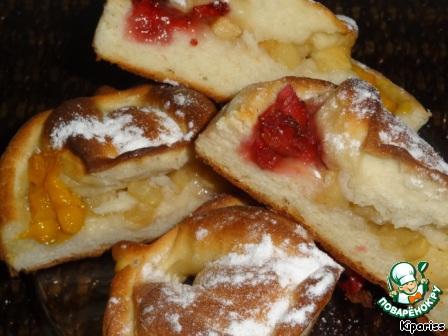 пирожки в духовке рецепт творожного теста