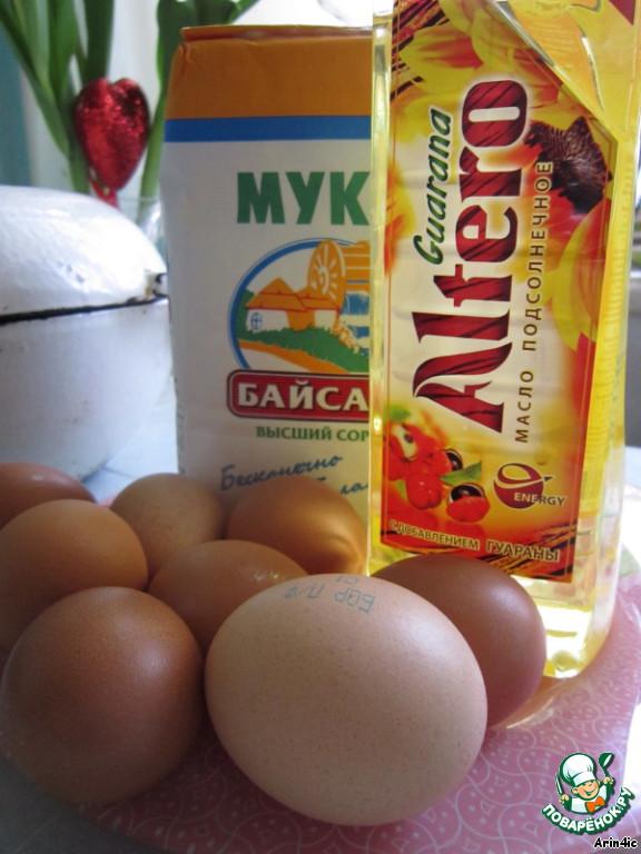 Рецепт баурсак яйца замораживать