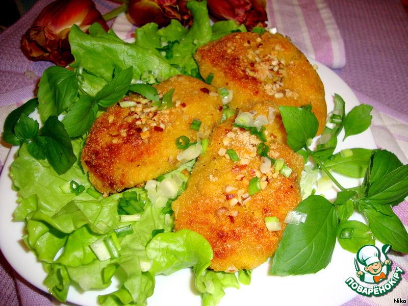 Овощные постные котлеты рецепты простые и вкусные