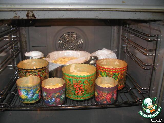 Домашний кулич в духовке рецепты