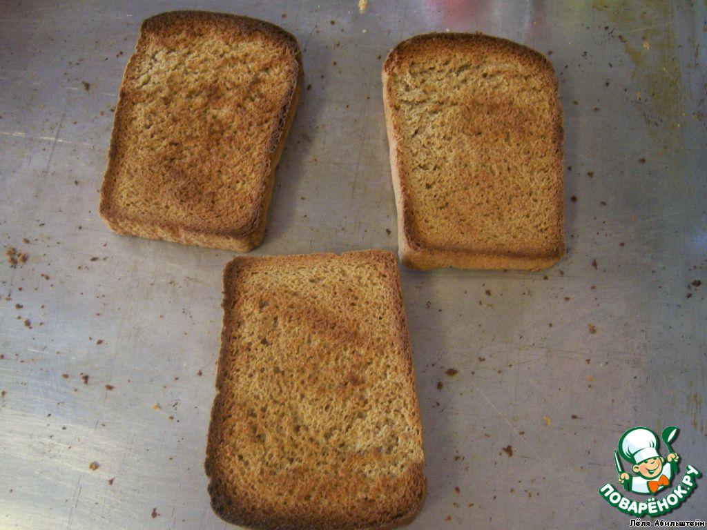Как сделать сухарики из ржаного хлеба в духовке