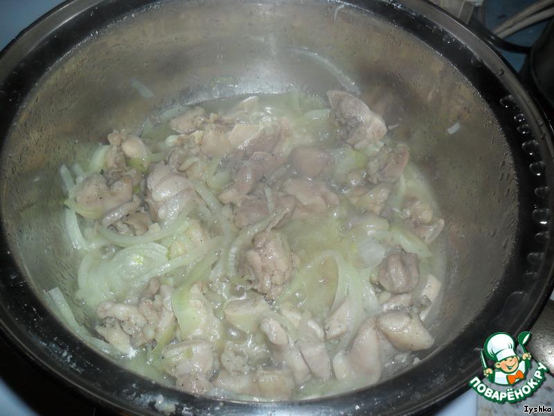 Паста из курицы в сливочном соусе пошаговый рецепт