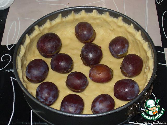 Рецепт пирогов слив пошаговое фото