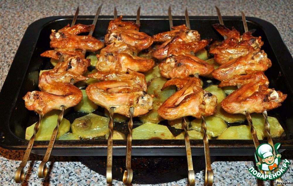 Как из курицы сделать шашлыки