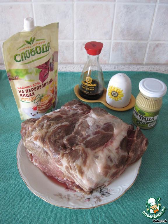 рецепт приготовления куриных голеней в духовке с майонезом