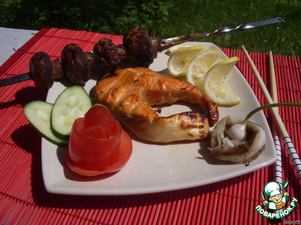 Шашлык из рыбы: 9 полезных рецептов