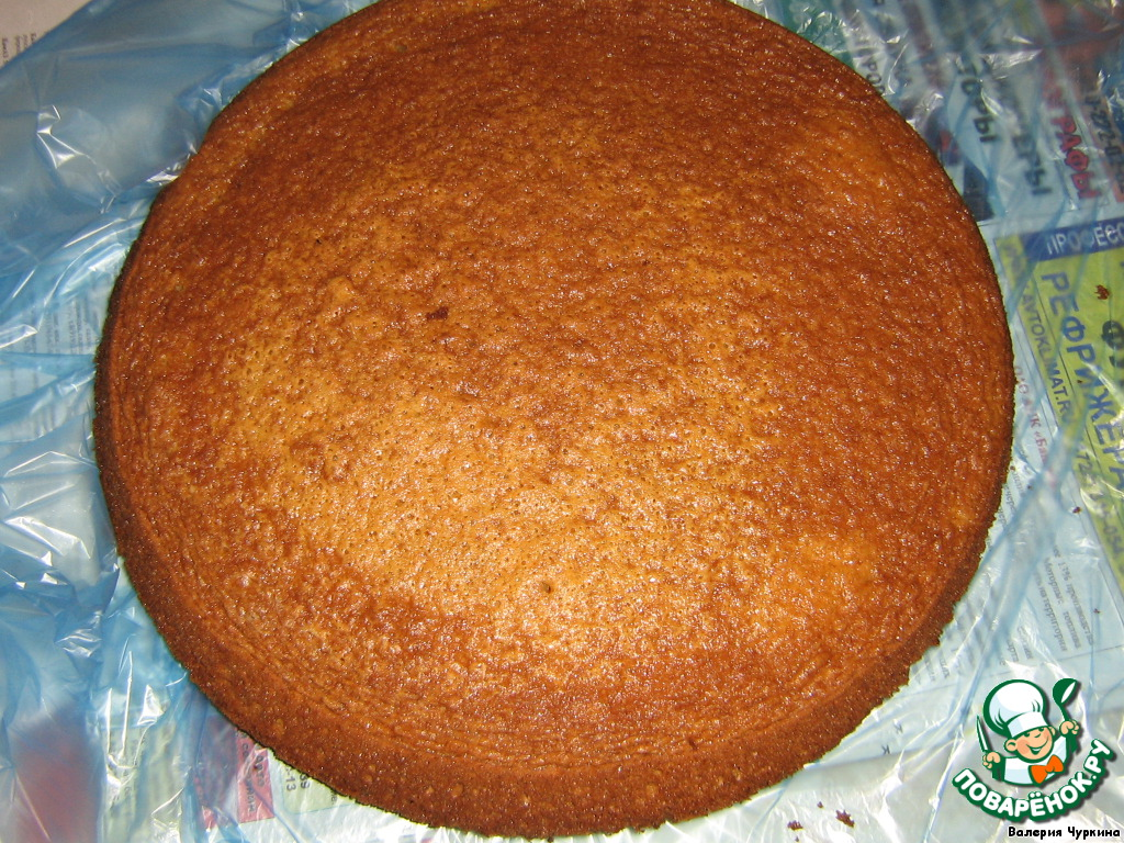 Как испечь простой торт в домашних условиях  616
