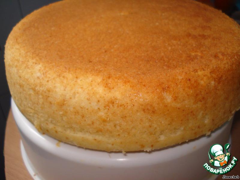 диаметром торта для Простой форме в 25 молоке бисквита на рецепт