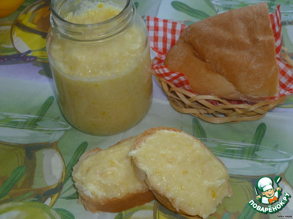 лимонное масло рецепт с фото