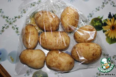 Как сделать картошку в микроволновке в пакете
