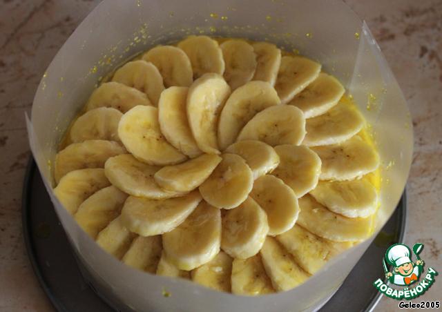 Торт бисквитный банановый рецепт