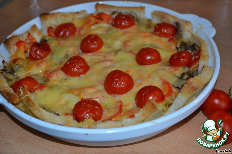 Овощная запеканка пошаговый рецепт с фото