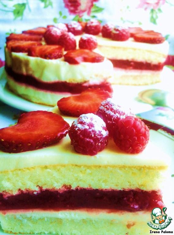 Как сделать торт с маскарпоне и клубникой