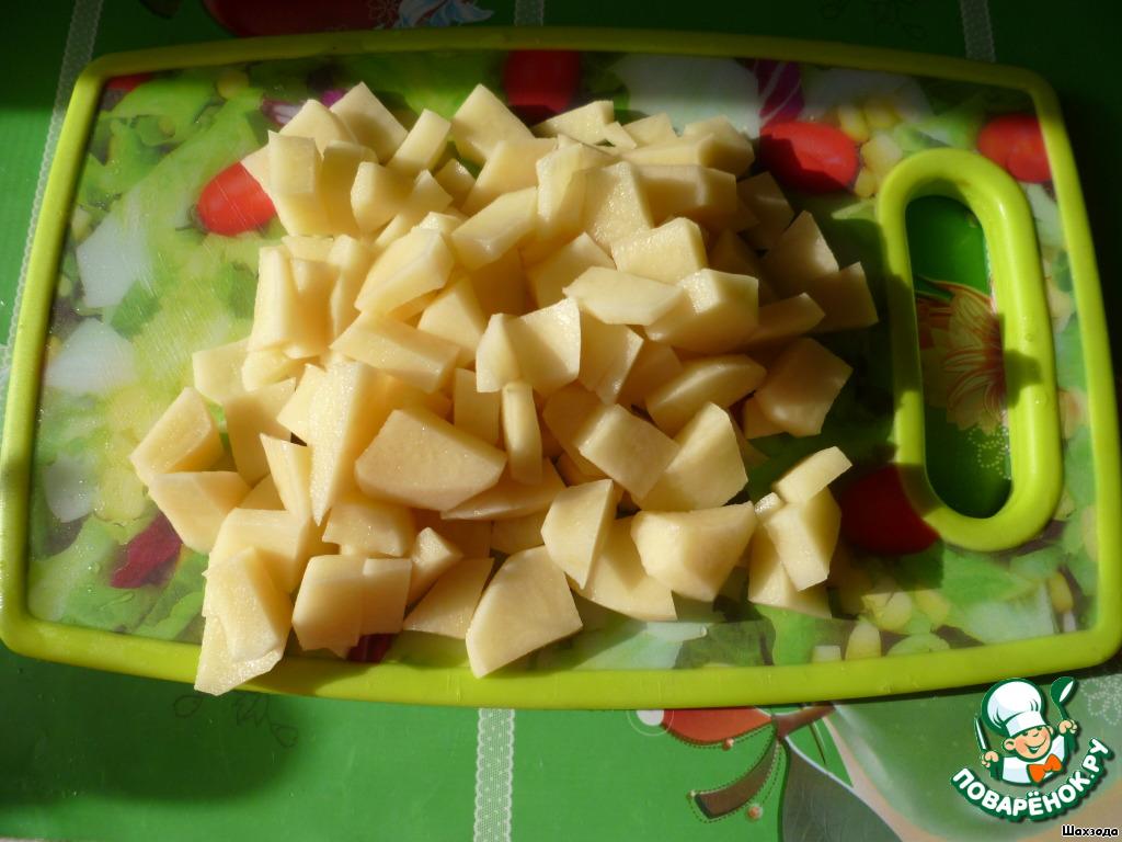 Как называется блюдо в горшочке с мясом и картошкой